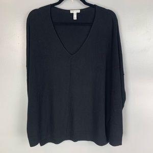 Leith oversized v-neck sweater